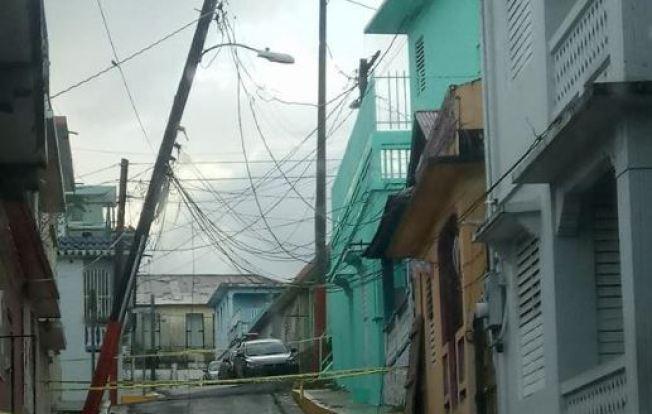 Se reportan árboles caídos por el Huracán Irma