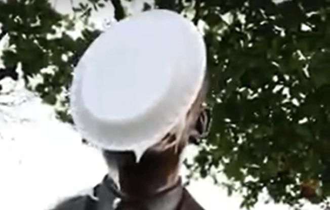 Vandalizan estatua de Obama en protesta por Oscar López