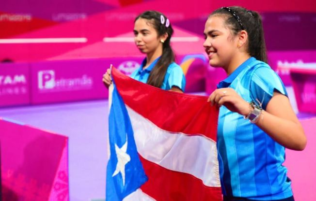 Adriana y Melanie Díaz suman otra medalla para Puerto Rico