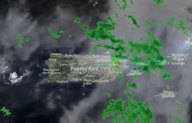 Vaguada provocará aguaceros y tronadas sobre la región