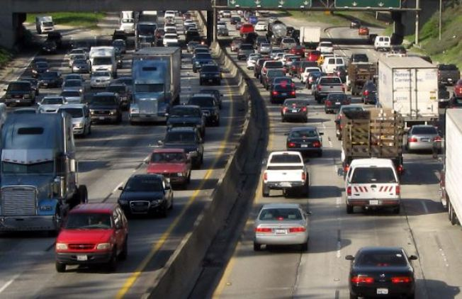 ¡Ojo! Se registra gran congestión vehicular en la PR-30