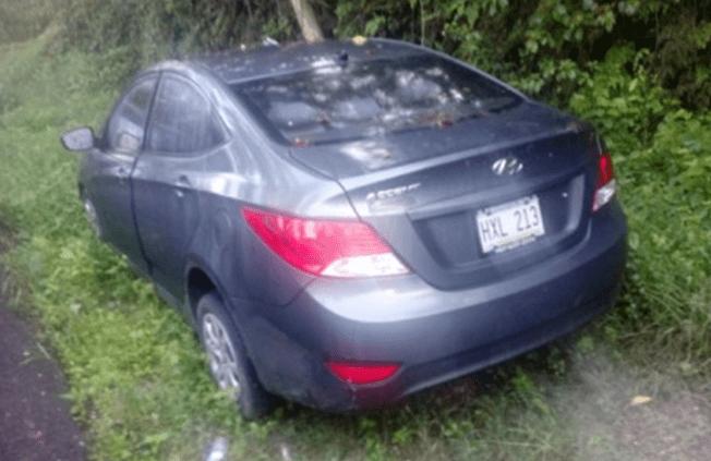 Cinco arrestos por robo de auto y drogas