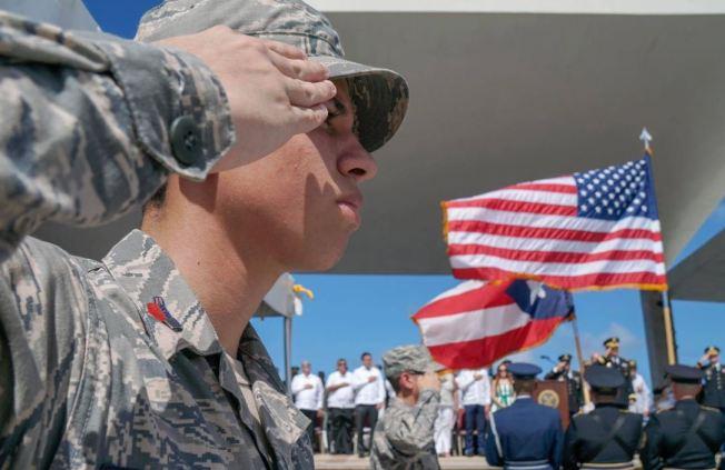 Larga tradición militar en Puerto Rico