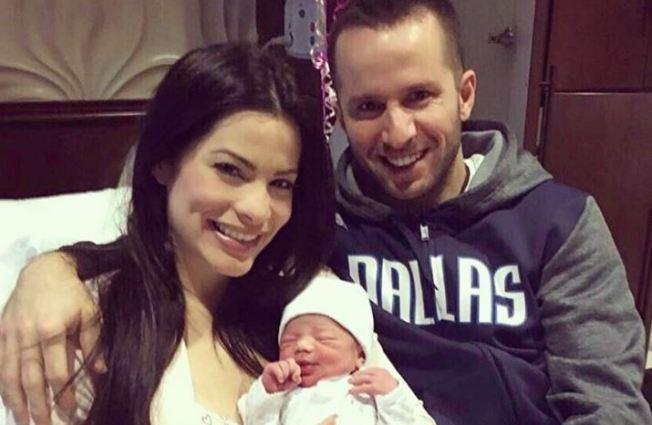 Bautizan a la bebé de Barea y Viviana Ortiz