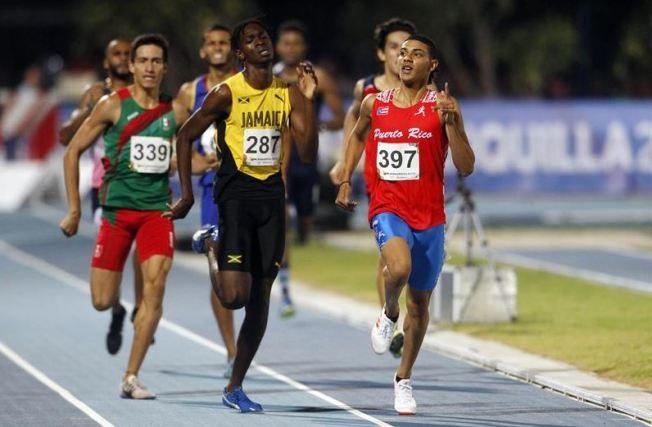 Tres medallas para Puerto Rico en el atletismo