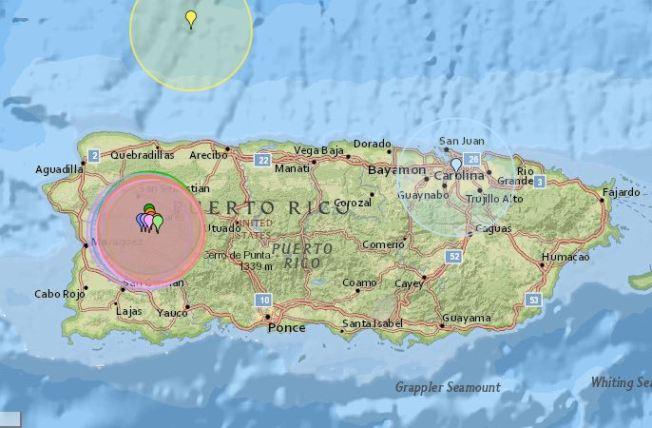 Registran un enjambre sísmico en Las Marías