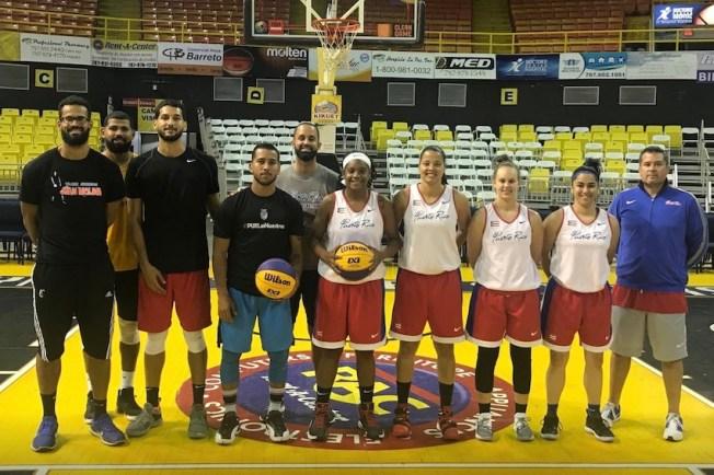 Llegan a Colombia los equipos boricuas de baloncesto 3x3