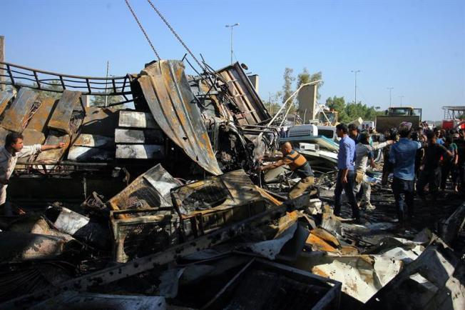 Al menos 50 muertos tras atentado del EI en Bagdad
