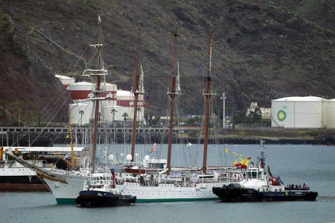 Buque de la Armada Española visitará la isla