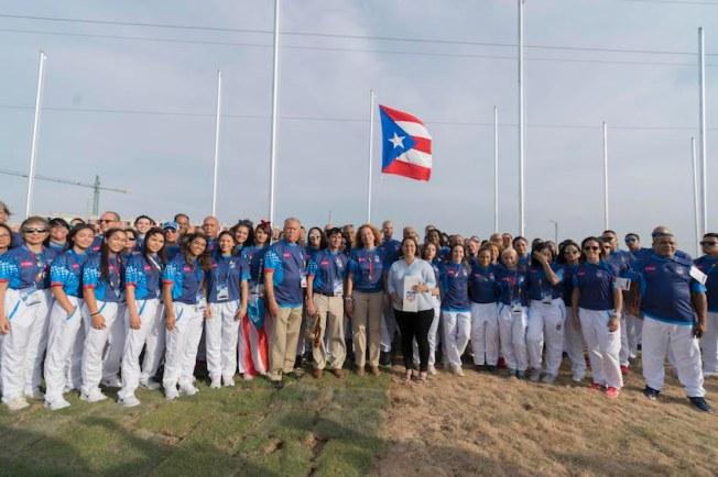 Puerto Rico planta bandera en Barranquilla