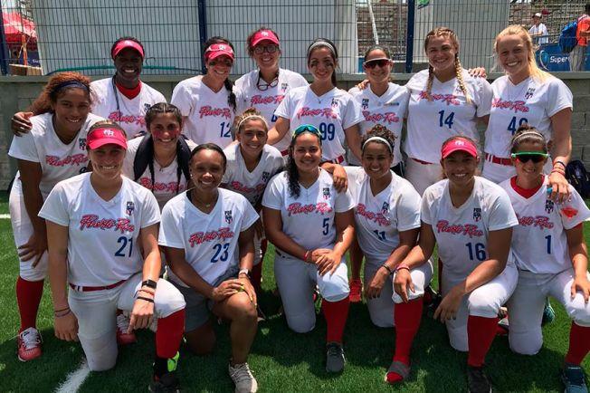 Puerto Rico cae en la semifinal del sóftbol femenino pero aún puede ganar oro