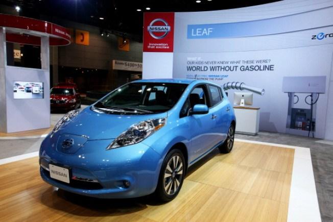 Nissan retira miles de autos Leaf del mercado