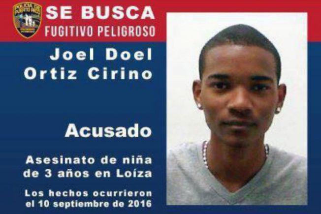 Se escapa sospechoso de matar a niñita en Loíza