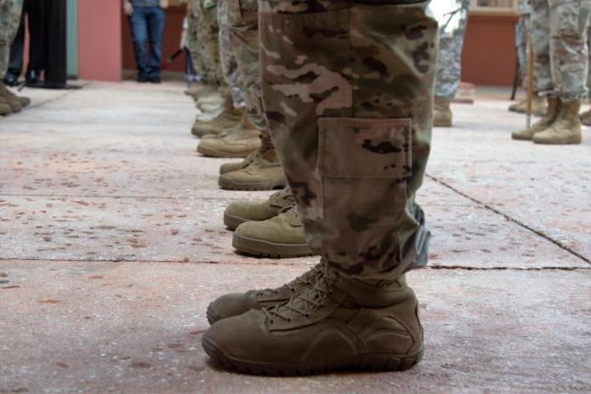 Soldados puertorriqueños rumbo al Medio Oriente