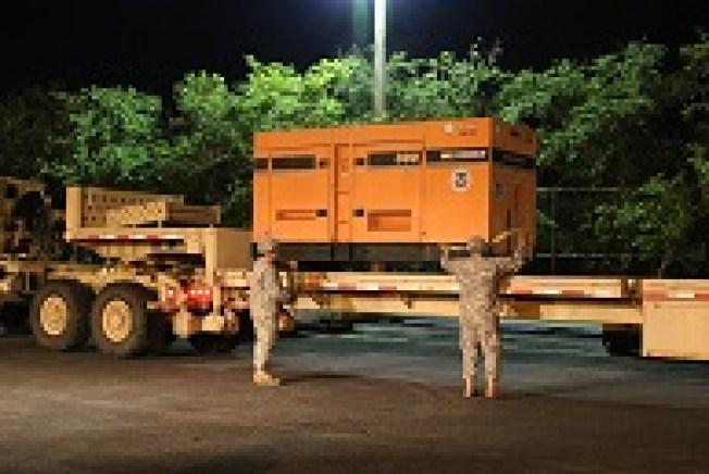 Guardia Nacional comienza distribución de plantas eléctricas