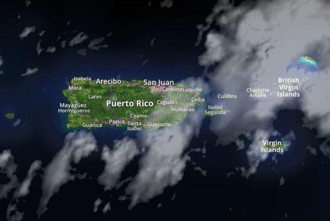 Vaguada provocará lluvias sobre la Isla