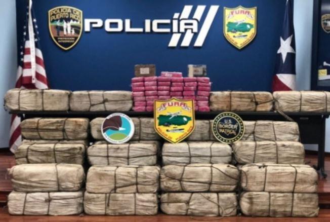 Incautan gran cantidad de droga en costa de Guayanilla