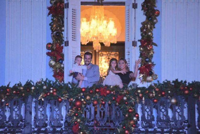 Familia Rosselló compartirá con los niños en Víspera de Reyes
