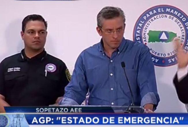 Declaran estado de emergencia en Puerto Rico