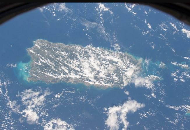 Puerto Rico desde el espacio