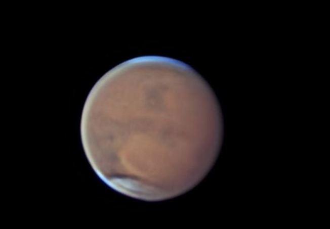 Planeta Marte en su mayor acercamiento en 15 años
