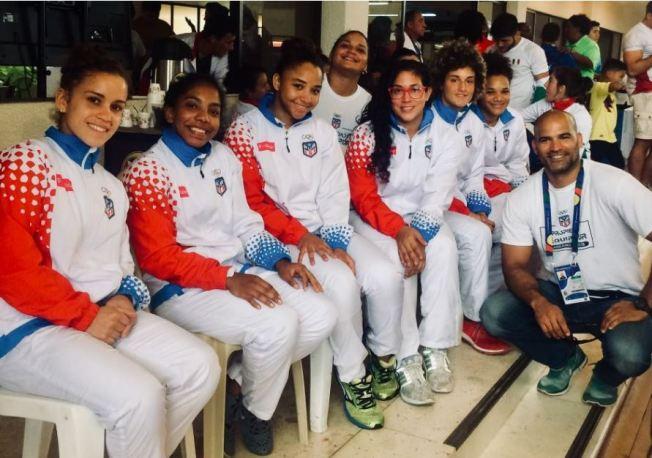 Bronce para el equipo femenino de judo
