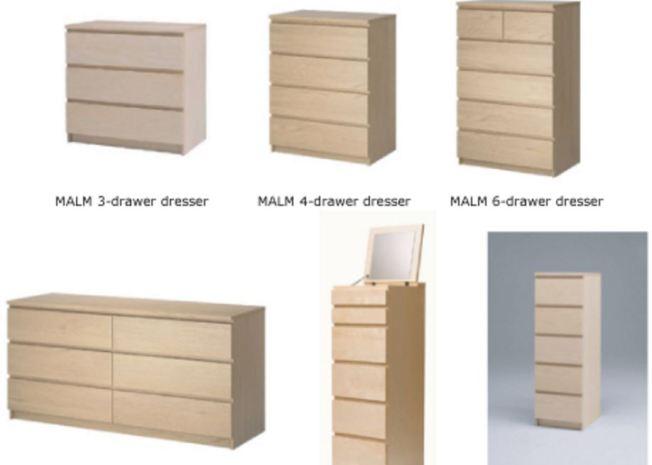Ikea retira gaveteros tras muerte de niños