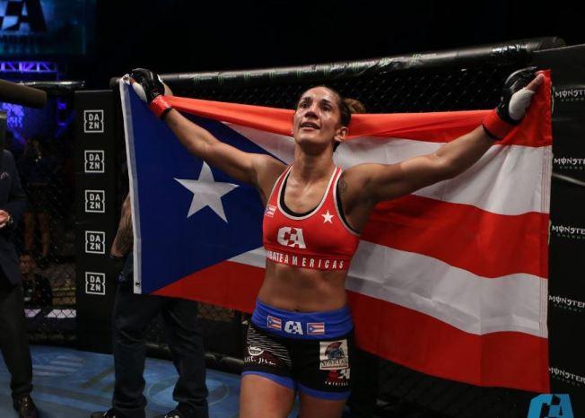 Boricua logra su primera victoria en MMA