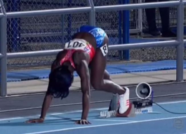Grace Claxton llega octava en los 400 metros con vallas