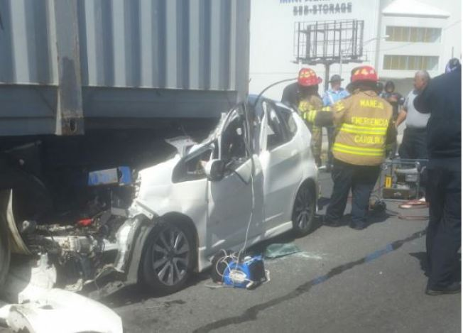 Reabren carriles de la Baldorioty tras accidente fatal