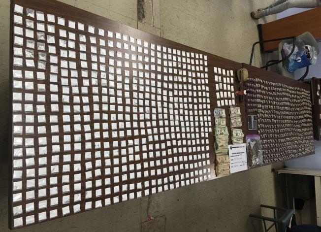 Arrestan a cuatro personas con drogas en Caimito