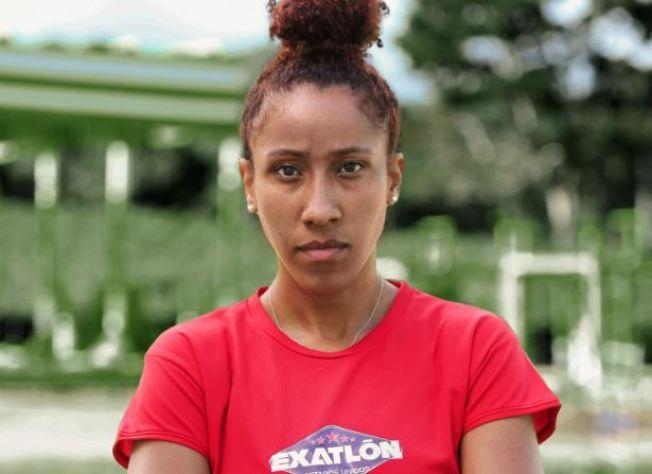 Lista Carla Cortijo para enfrentar la batalla en Exatlón