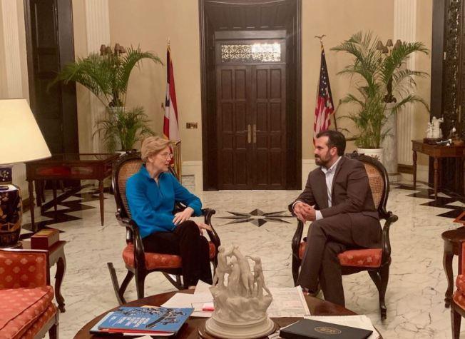Elizabeth Warren: Puerto Rico no recibió ayuda justa