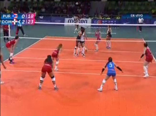 Puerto Rico disputará el bronce con México en el voleibol femenino