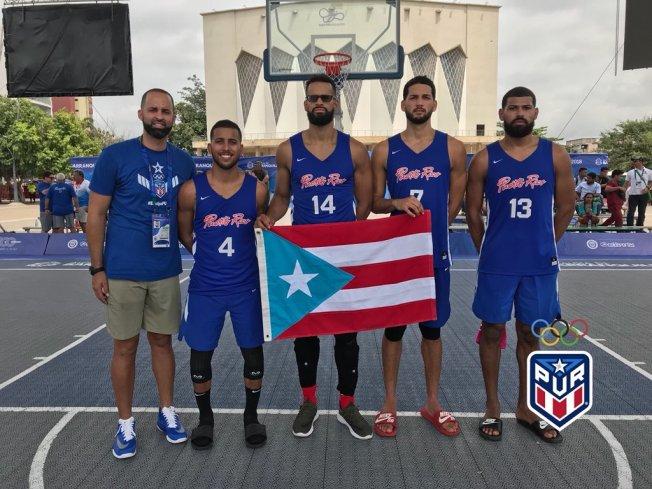 Oro para Puerto Rico en el 3x3