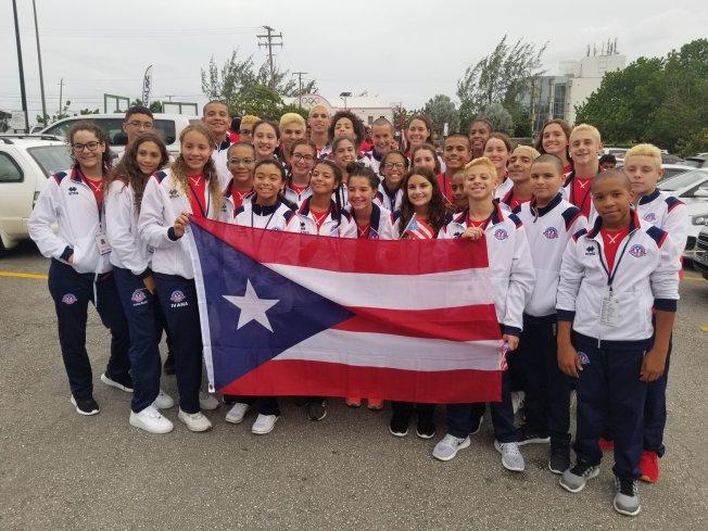 Delegación boricua de natación gana 29 medallas en CCCAN 2019
