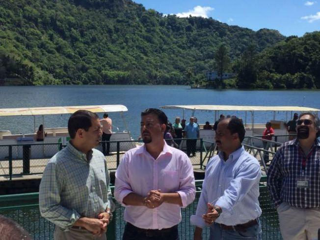 Rejuvenecen facilidades de embarcadero en lago Dos Bocas