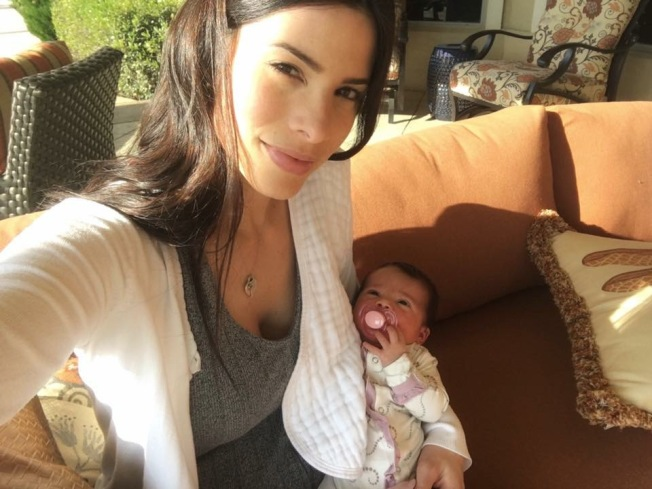 Viviana Ortiz comparte tierna foto con la pequeña Paulina