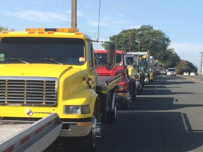 Camioneros amenazan con paralizar peaje de Buchanan