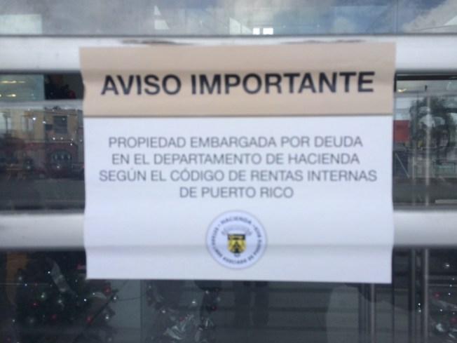 Hacienda diligencia segundo operativo de embargos del 2016