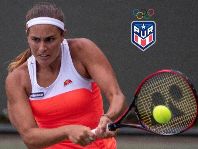 Mónica Puig avanza a semifinales en sencillos