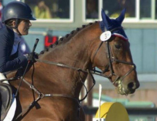 Lauren Billys y el caballo Castle debutan en Rio 2016
