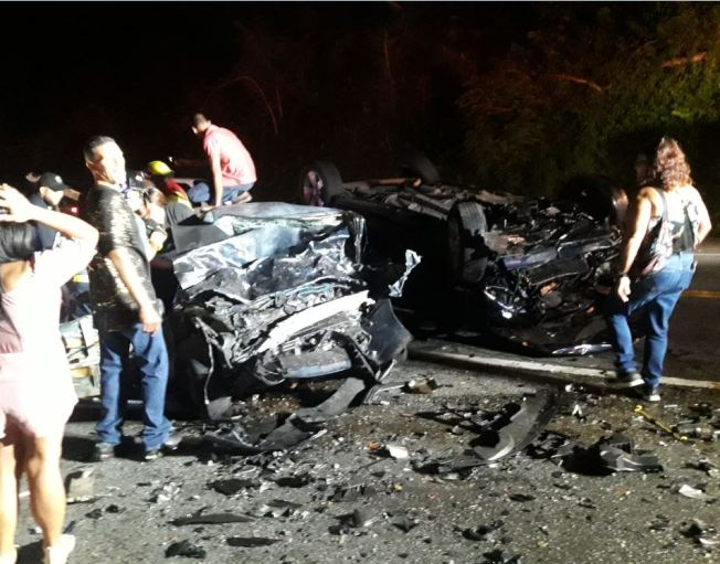 Accidente fatal en Caguas