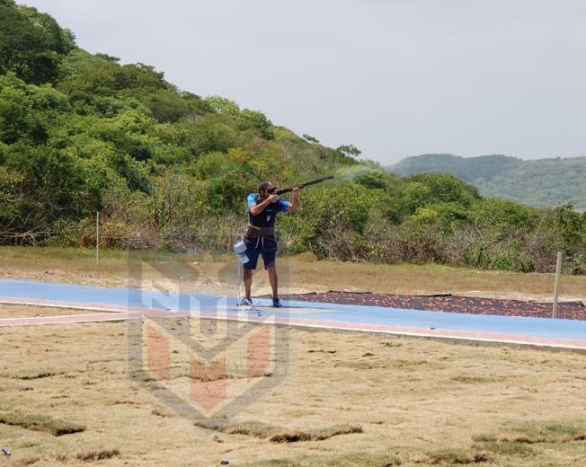 Fuera del podio Puerto Rico en rifle tendido a 50 metros