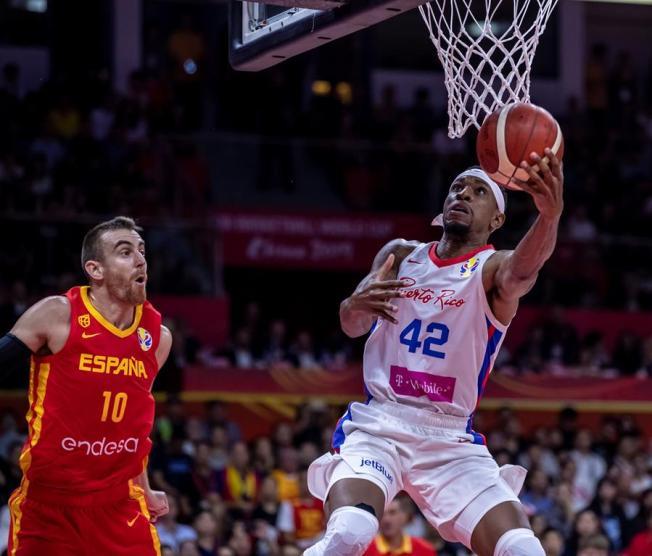 Puerto Rico cae ante España en el Mundial de la FIBA
