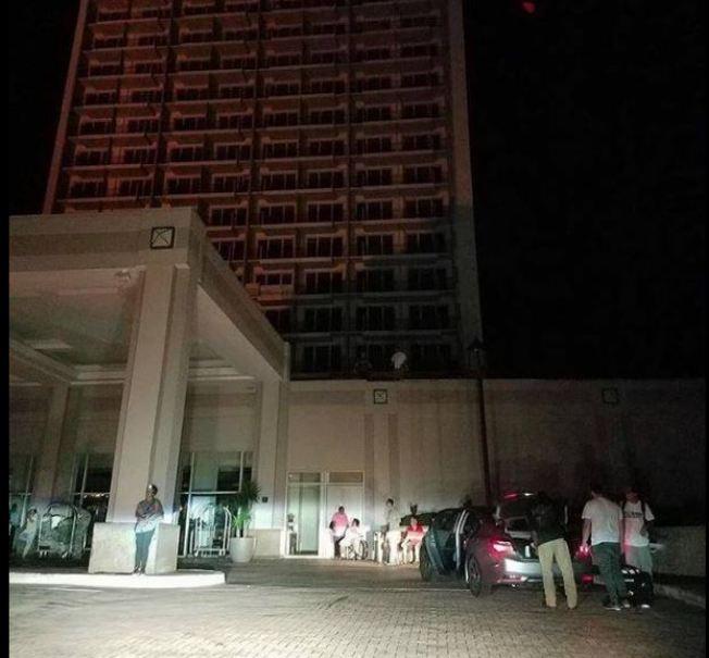 Hotel Marriott de Condado a oscuras tras colpaso de generador