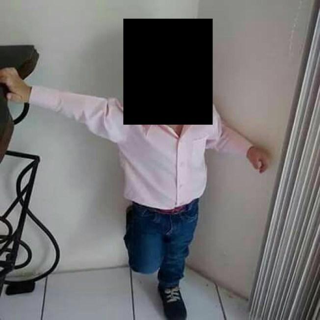 Se vuelve viral foto de supuesto menor secuestrado