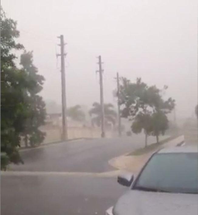 Incidentes por fuertes lluvias
