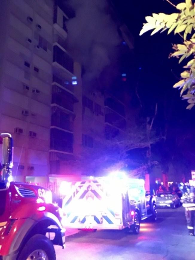 Se quema apartamento en Río Piedras
