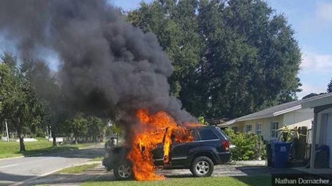 Hombre de Florida dice que su Samsung Note 7 explotó